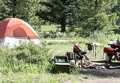 West Yellowstone Campground