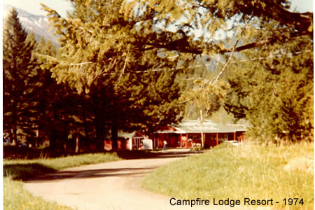 Campfire Lodge Resort 1974