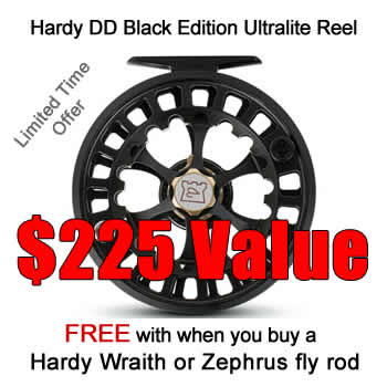 Hardy DD Reel Promotion With Hardy Fly Rod