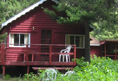 Madison river cabin rentals west yellowstone rv park for Madison cabin rentals