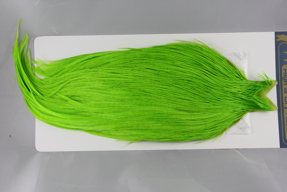 HDC-2468 Fluor. Green Chartrues High & Dry Cape
