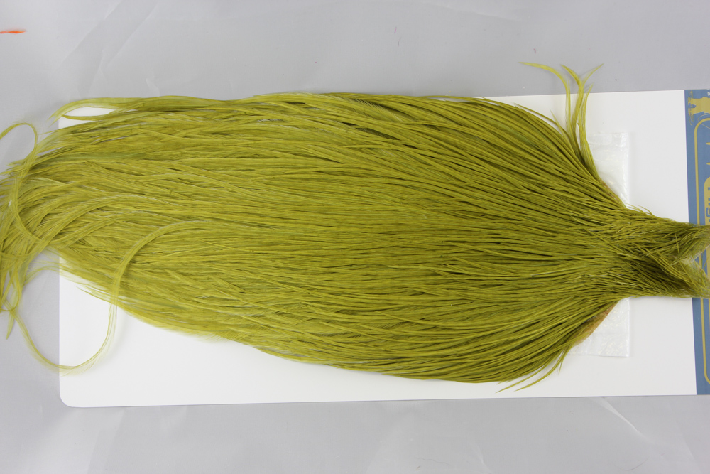 White dyed Olive High & Dry Cape #2499