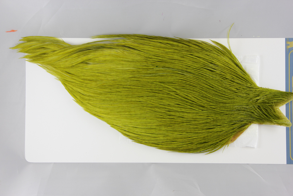 White dyed Olive High & Dry Cape #2500