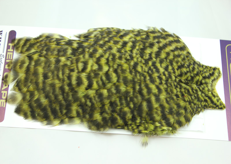 Grizzly/Olive Hen Cape